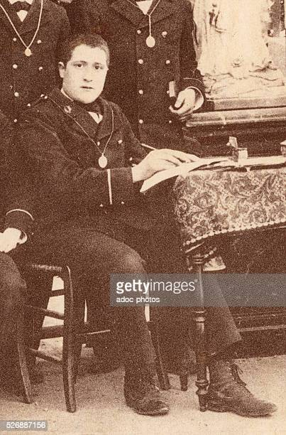 Guillaume Apollinaire at the coll��ge StCharles in Monaco In 1894