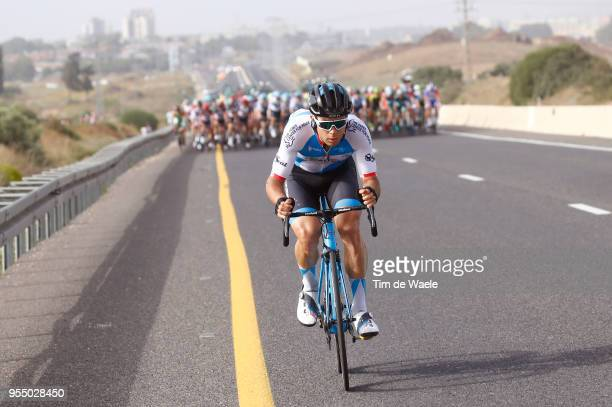Guillaume Boivin of Canada and Team Israel Cycling Academy / during the 101th Tour of Italy 2018, Stage 2 a 167km stage from Haifa to Tel Aviv / Giro...