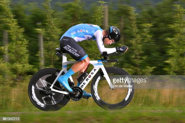 Guillaume Boivin of Canada and Team Israel Cycling Academy / during the 101st Tour of Italy 2018, Stage 16 a 34,2km Individual Time Trial stage from...
