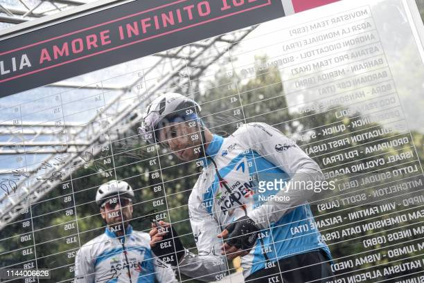 Guillaume Boivin of Canada and Team Israel Cycling Academy Sing In during the 102nd Giro d'Italia 2019, Stage 5 a 140km stage from Frascati to...