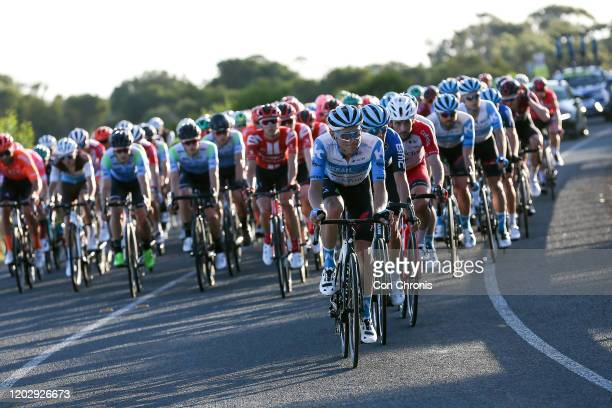 Guillaume Boivin of Canada and Team Israel Start-Up Nation / Peloton / during the 4th Towards Zero Race Torquay 2020, Men Elite 130km race from...