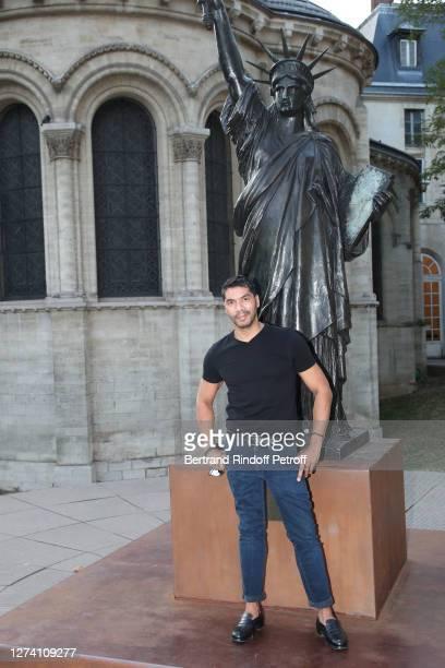"Guillaume Bordier attends the ""Il Medico Della Peste"" Franck Sorbier Haute Couture Pieces Uniques AW 2020/21 Maitre d'art Collection : Screening &..."