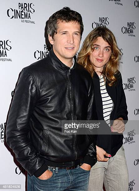 Guillaume Canet and Adele Haenel attend the screening of Andre Techine's film L'Homme Qu'on Aimait Trop on day 3 of Festival Paris Cinema 2014 at...