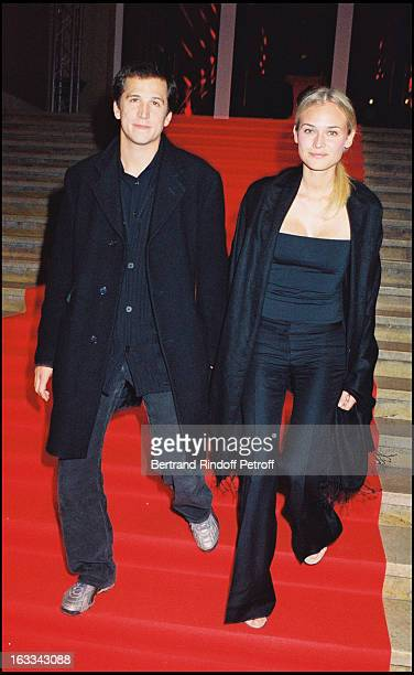 Guillaume Canet and Diane Kruger at theGala Evening Celebrating Nouvelle Vague Cartier At Palais De Chaillot In Paris In 2000