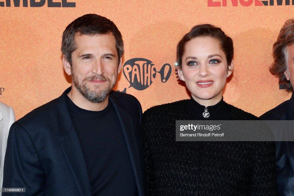 """""""Nous Finirons Ensemble"""" : Premiere  At Cinema Gaumont Capucines In Paris : News Photo"""