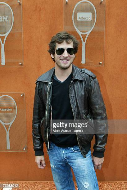 Guillaume Canet arrives in the 'Village' the VIP area of the French Open at Roland Garros arena in Paris France on June 7 2007
