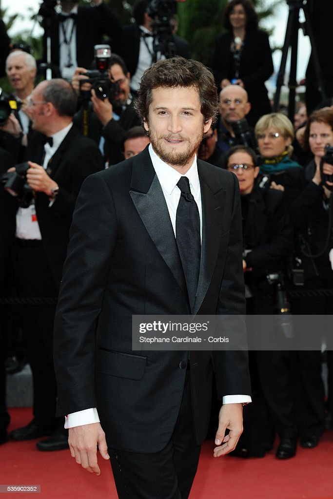 Guillaume Canet at the Premiere for 'You will meet a tall dark stranger' during the 63rd Cannes International Film Festival.