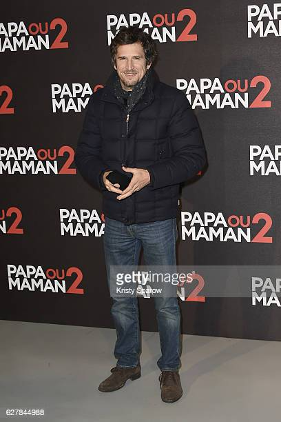 Guillaume Canet attends the 'Papa ou Maman 2' Paris Premiere at Cinema Gaumon Alesia on December 5 2016 in Paris France