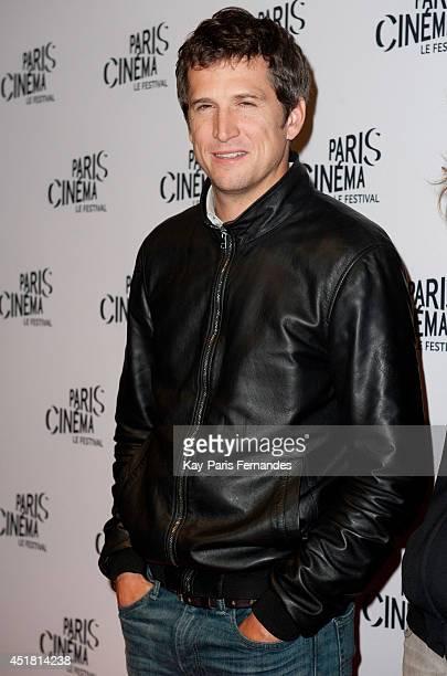 Guillaume Canet attends the Paris premiere of 'LÕHomme quÕon aimait trop' on day 3 of the Fesitval Paris Cinema on July 7 2014 in Paris France