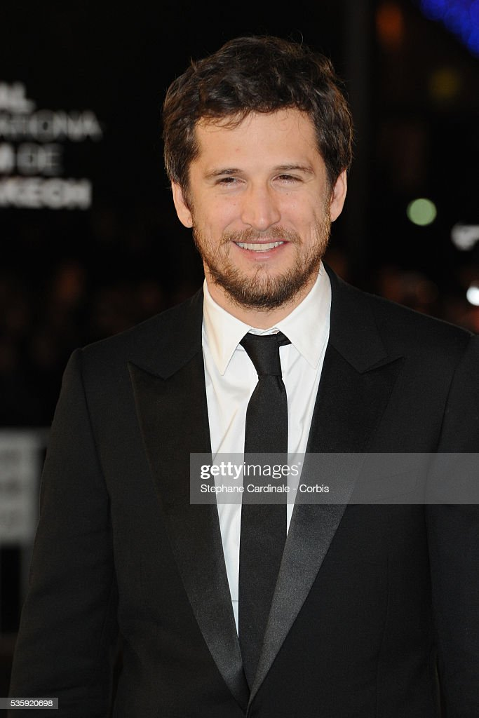 Guillaume Canet attends the Tribute to French Cinema during the Marrakech 10th Film Festival.