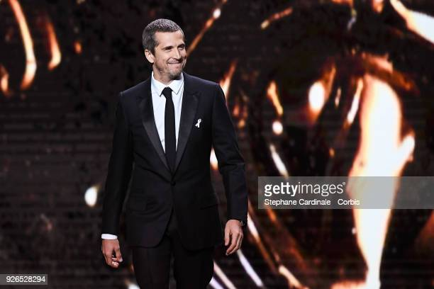Guillaume Canet during the ceremony of the Cesar Film Awards 2018 at Salle Pleyel on March 2 2018 in Paris France