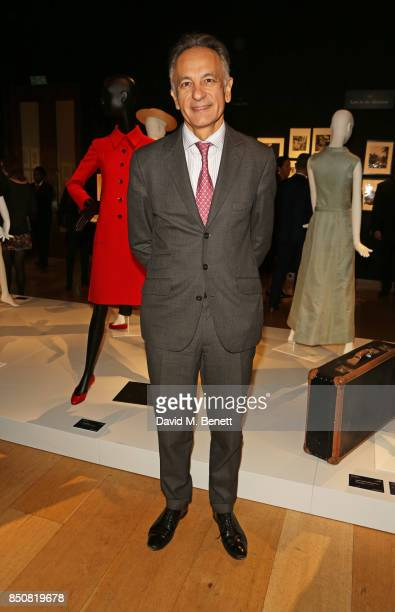 Guillaume Cerutti CEO of Christie's attends the opening reception for 'Audrey Hepburn The Personal Collection' at Christie's on September 21 2017 in...
