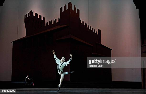 Guillaume Cote as Romeo in the National Ballet of Canada's production of Alexei Ratmansky's Romeo and Juliet at Sadler's Wells in London