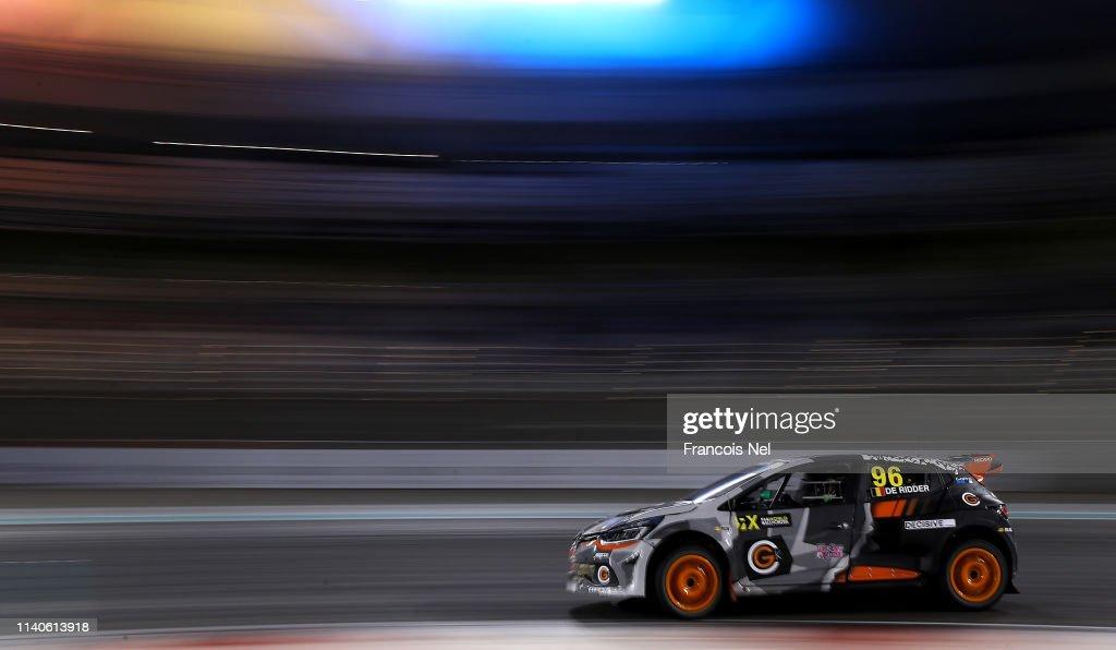 FIA World Rallycross Championship - Abu Dhabi : News Photo