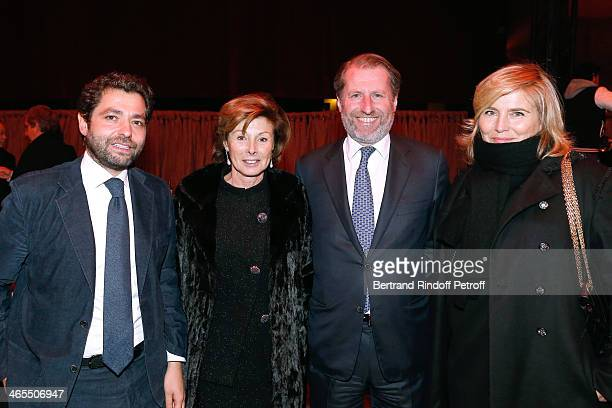 Guillaume De Seynes MarieLouise de Clermont Tonnerre Pierre Sauvage and International Director of Press and External Relations of Chanel Valerie...