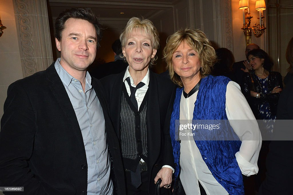 Guillaume de Tonquedec, Tonie Marshall and Daniele Thompson attend the Producer's Dinner - Cesar Film Awards 2013 at Georges V on February 18, 2013 in Paris, France.