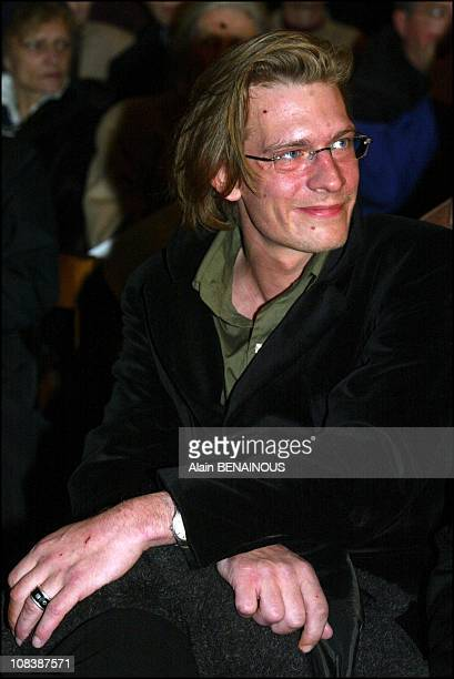 Guillaume Depardieu in Paris France on February 09 2003