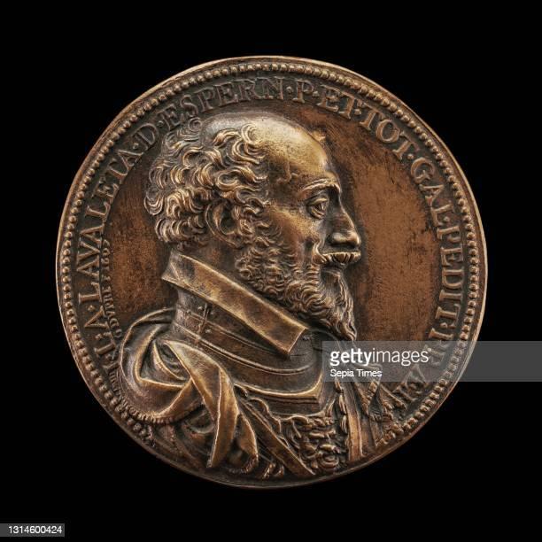 Guillaume Dupre, , French, c. 1574 - 1642, Jean-Louis de Nogaret de la Valette, 1554-1642, Duke of Epernon, Colonel General of Infantry bronze,...