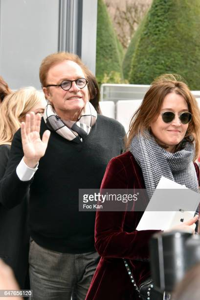 Guillaume Durand and Diane de Mac Mahon attends the Christian Dior show as part of the Paris Fashion Week Womenswear Fall/Winter 2017/2018 on March 3...
