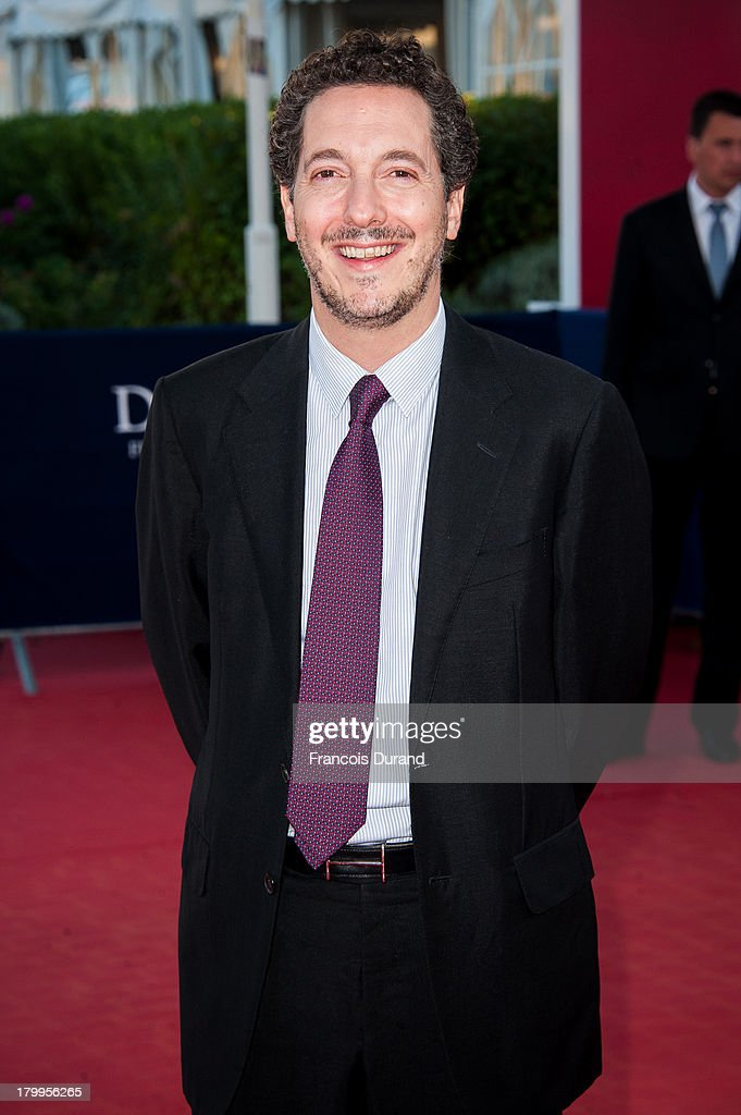 Guillaume Gallienne arrives at the 'Snowpierce' Premiere and closing ceremony of the 39th Deauville American Film Festival on September 7, 2013 in Deauville, France.
