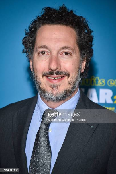 Guillaume Gallienne attends 'Les Nuits en Or 2017' Dinner Gala at Unesco on June 12 2017 in Paris France