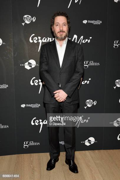 Guillaume Gallienne attends the 'Cezanne et Moi' New York premiere at the Whitby Hotel on March 22 2017 in New York City