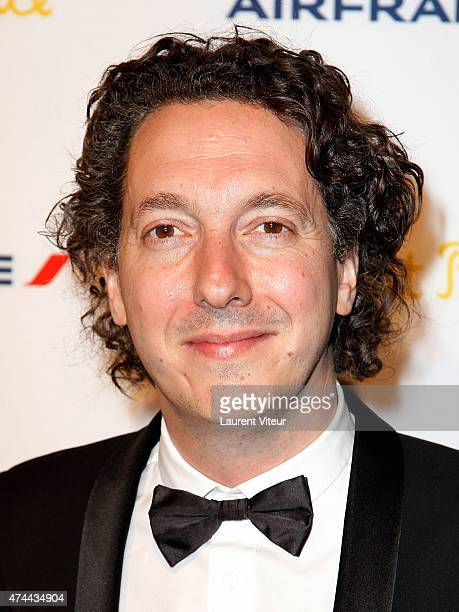 Guillaume Gallienne attends 'The Little Prince' Party during the 68th annual Cannes Film Festival on May 22 2015 in Cannes France