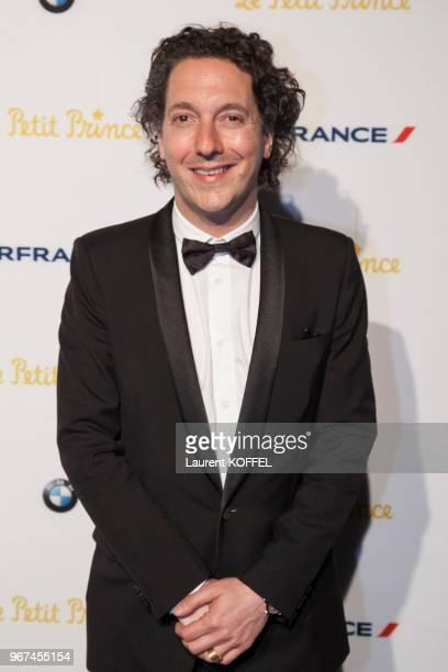 Guillaume Gallienne lors de la première du film 'Le Petit Prince' pendant le 68eme Festival du Film Annuel au Palais des Festivals le 22 mai 2015...