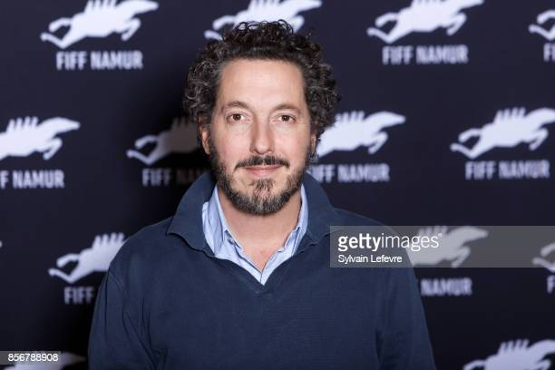 Guillaume Gallienne poses during during photocall for the 32nd Namur International FrenchLanguage Film on October 2 2017 in Namur Belgium