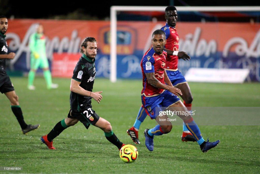 FRA: Gazelec Ajaccio v RC Lens - Ligue 2