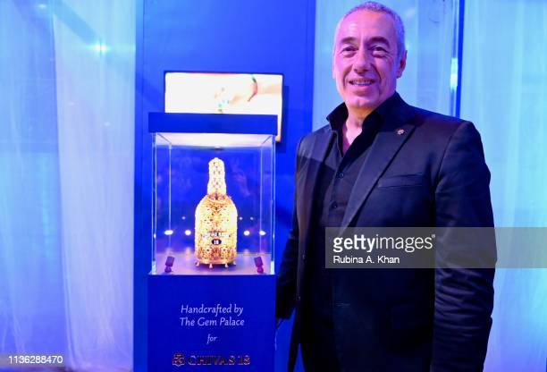 Guillaume GirardRedyet Pernod Ricard India Seagram's attends the third edition of Chivas 18 Alchemy 2019 on March 16 2019 in New Delhi India
