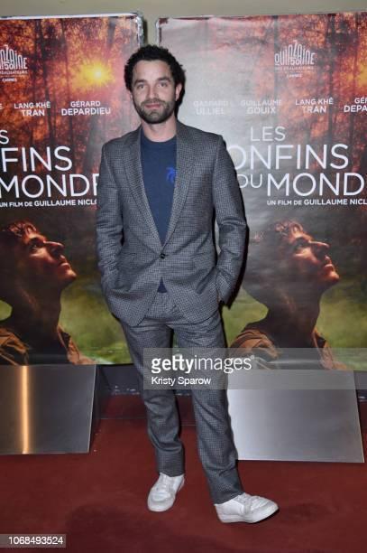Guillaume Gouix attends the Les Confins Du Monde Paris Premiere at UGC Cine Cite des Halles on December 4 2018 in Paris France
