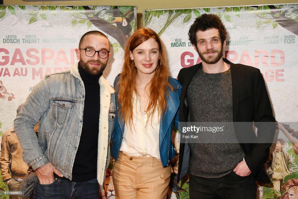 """""""Gaspard Va Au Mariage"""" Paris Premiere at UGC Cite Les Halles"""