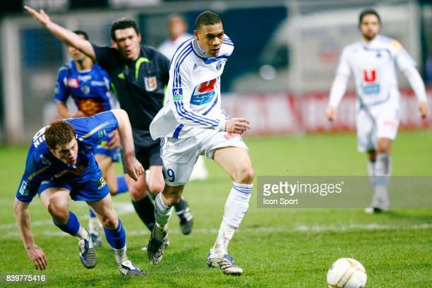 Guillaume HOARAU Troyes / le Havre 26e journee Ligue 2