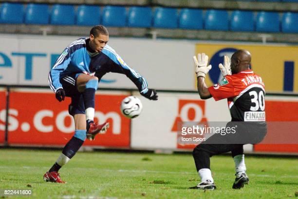 Guillaume HOARAU / Fousseyni TANGARA Le Havre / Amiens 23 eme journee de Ligue 2 Le Havre
