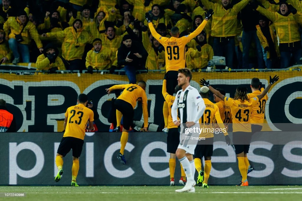 BSC Young Boys v Juventus - UEFA Champions League Group H : News Photo