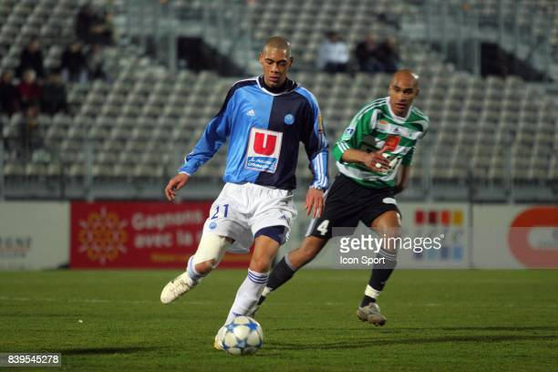Guillaume HOARAU Sete / Le Havre 28eme journee de Ligue 2