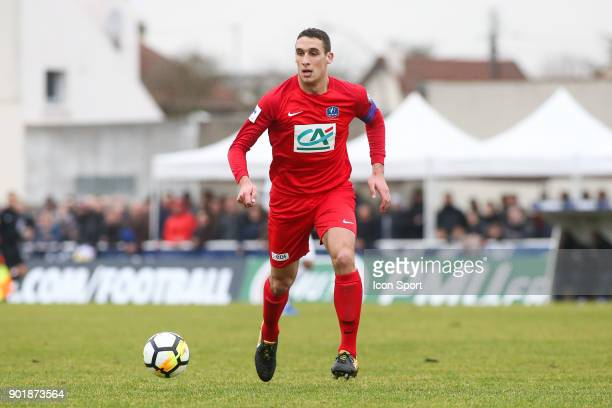 Guillaume Jannez of Concarneau during the french National Cup match between Houilles and Concarneau on January 6 2018 in Houilles France