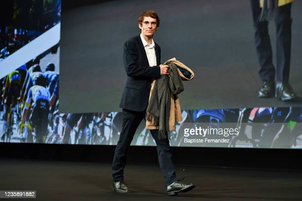 Guillaume MARTIN during the presentation of the Tour de France 2022 at Palais des Congres on October 14, 2021 in Paris, France.