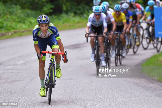Guillaume Martin of France and Team Wanty Groupe Gobert / during the 70th Criterium du Dauphine 2018 Stage 4 a 181km stage from ChazeysurAin to...