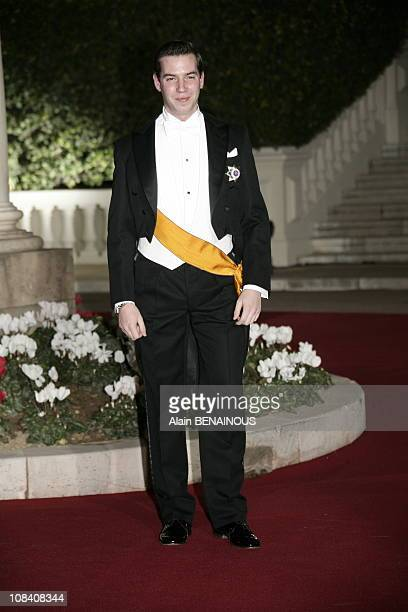 Guillaume of Luxembourg in Monaco on November 19 2005