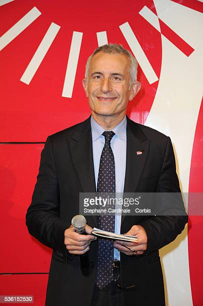 Guillaume Pepy attends the 30 years of the TGV Celebration at Gare Montparnasse in Paris