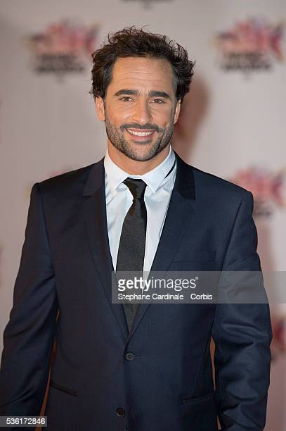 Guillaume Pley arrives at the 17th NRJ Music Awards at Palais des Festivals on November 7 2015 in Cannes France