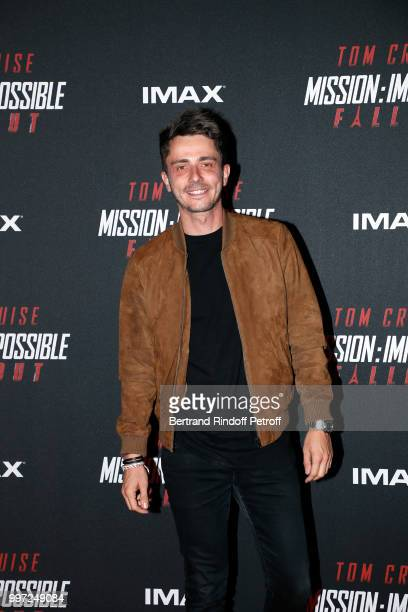 Guillaume Pley attends the Global Premiere of 'Mission Impossible Fallout' at Palais de Chaillot on July 12 2018 in Paris France