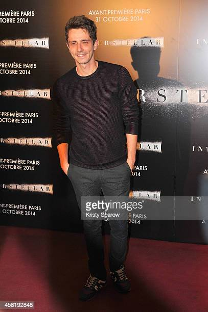 Guillaume Pley attends the 'Interstellar' Paris Premiere at Le Grand Rex on October 31 2014 in Paris France