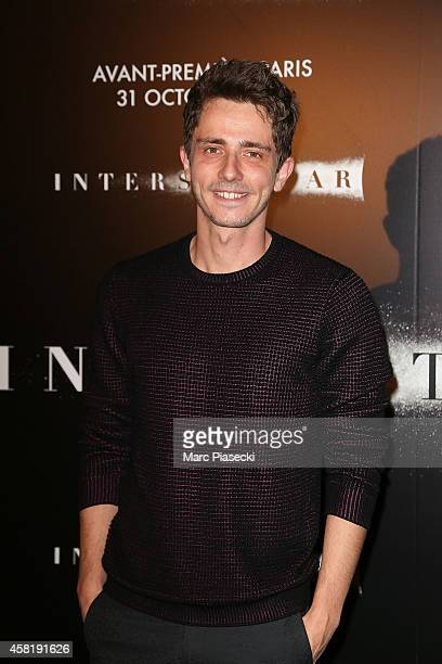 Guillaume Pley attends the 'Interstellar' Premiere at Le Grand Rex on October 31 2014 in Paris France