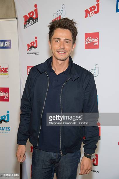 Guillaume Pley poses at the Photocall of NRJ Group at Musee du Quai Branly on September 14 2016 in Paris France