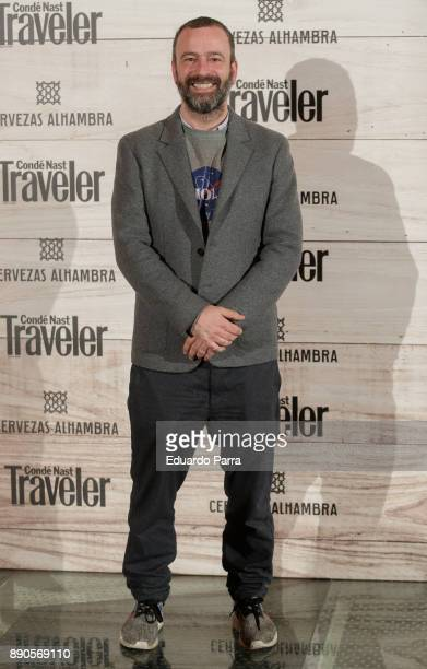 Guille GarciaHoz attends the 'Conde Nast Traveler Gastronomic and Wine Guide' photocall at Florida Retiro on December 11 2017 in Madrid Spain