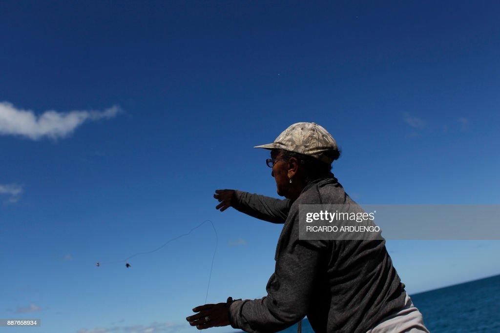 PUERTORICO-WEATHER-POWER-HURRICANE : News Photo