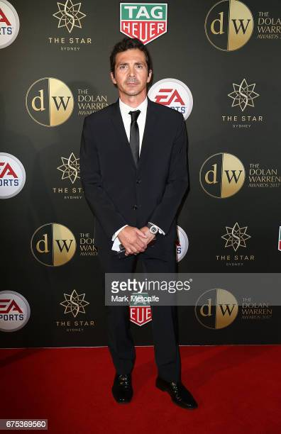 Guillermo Amor arrives ahead of the FFA Dolan Warren Awards at The Star on May 1 2017 in Sydney Australia
